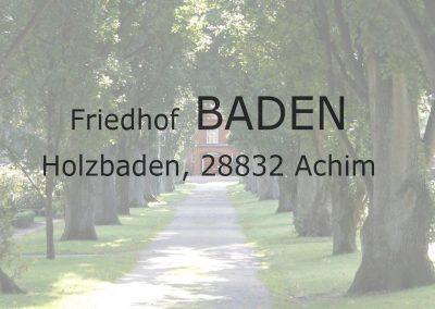 Friedhof BADEN