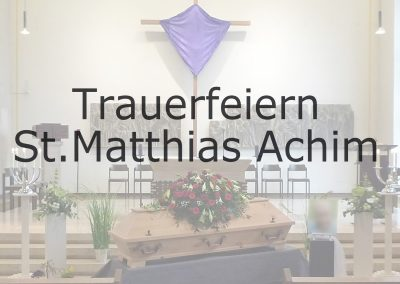 St.MATTHIAS Achim