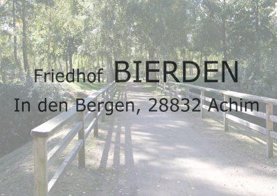 Friedhof BIERDEN