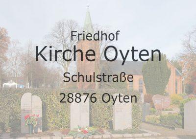 Friedhof KIRCHE OYTEN