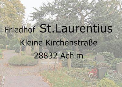 Friedhof St.LAURENTIUS